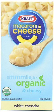 Organic Macaroni and Cheddar Dinner by Kraft