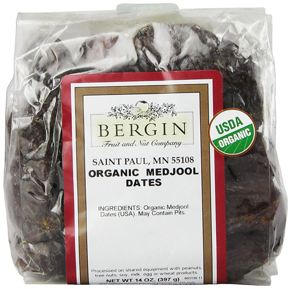 Organic Medjool Dates by Bergin Nut Company