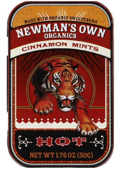 Organic Mints With Cinnamon by Newman's Own Organics