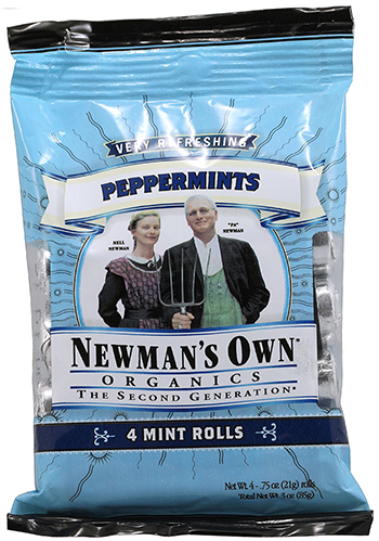 Organic Mints by Newman's Own Organics
