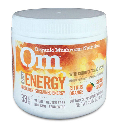 Organic Mushroom Energy Drink Blend by OM