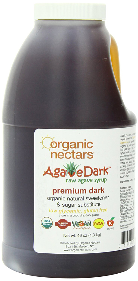 Organic Nectars Raw Dark Mexican Agave Syrup