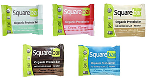 Organic Protein Bar Variety Pack by Square Bar