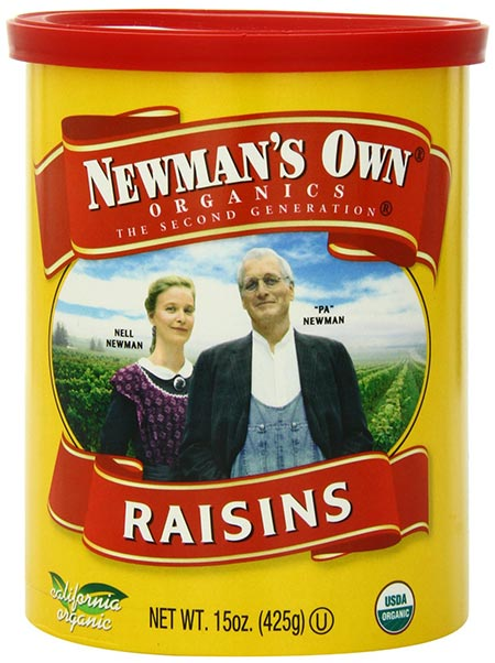Organic Raisins by Newman's Own Organics