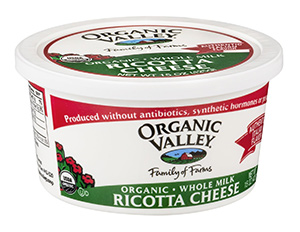 Organic Ricotta Cheese by Organic Valley
