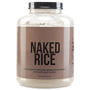 Organic Sprouted Brown Rice Protein by Naked Nutrition
