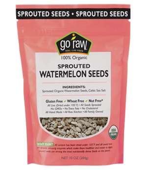 Go Raw Organic Sprouted Watermelon Seeds