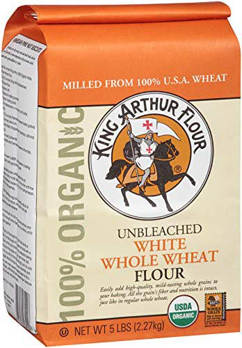 Organic Unbleached White Wheat Flour by King Arthur