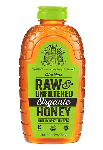Organic Unfiltered Honey by Nature Nate's