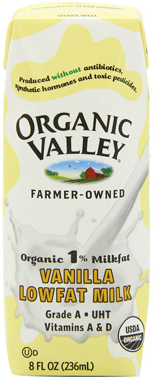 Organic Valley Lowfat Fresh Vanilla Milk