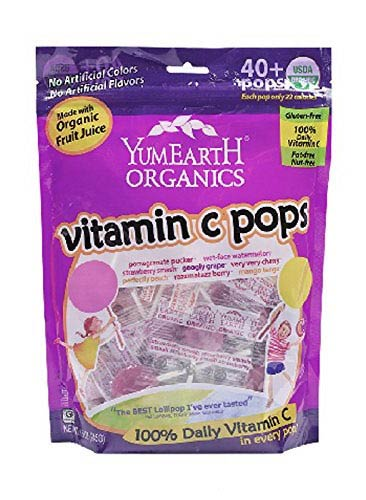 Organic Vitamin C Lollipops by YummyEarth