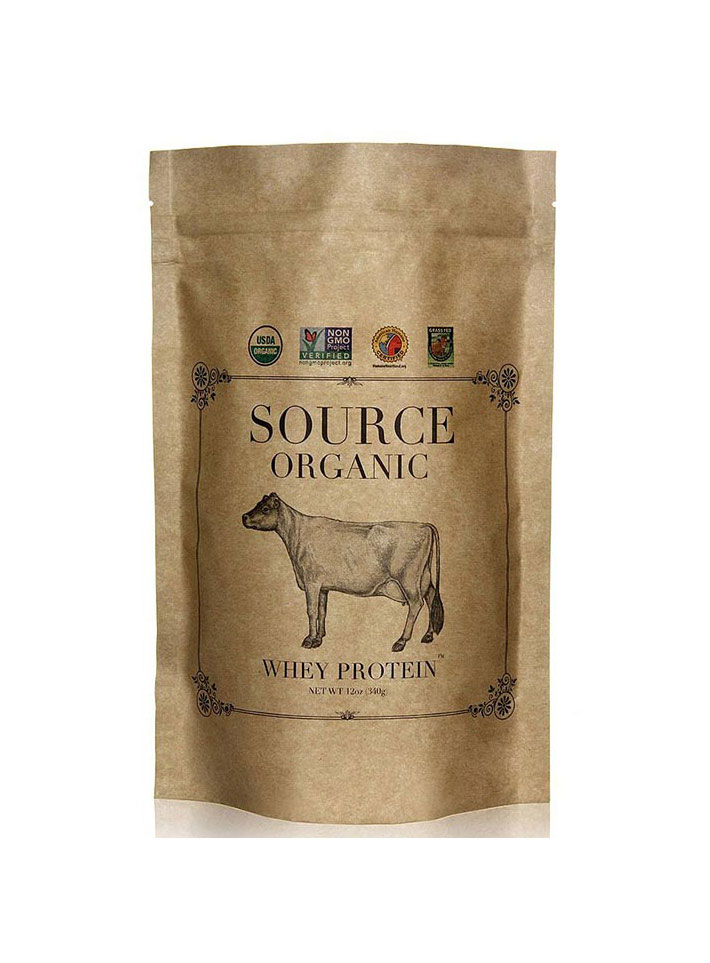 Organic Whey Protein by Source Organic