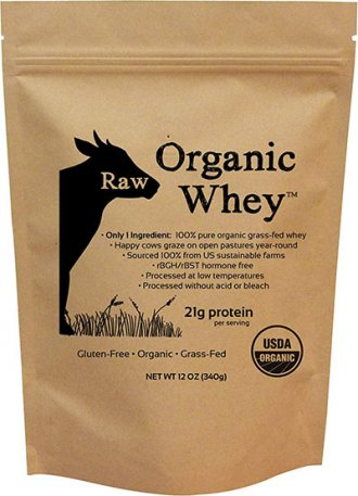 Organic Whey Protein Supplement by Raw Organic Whey