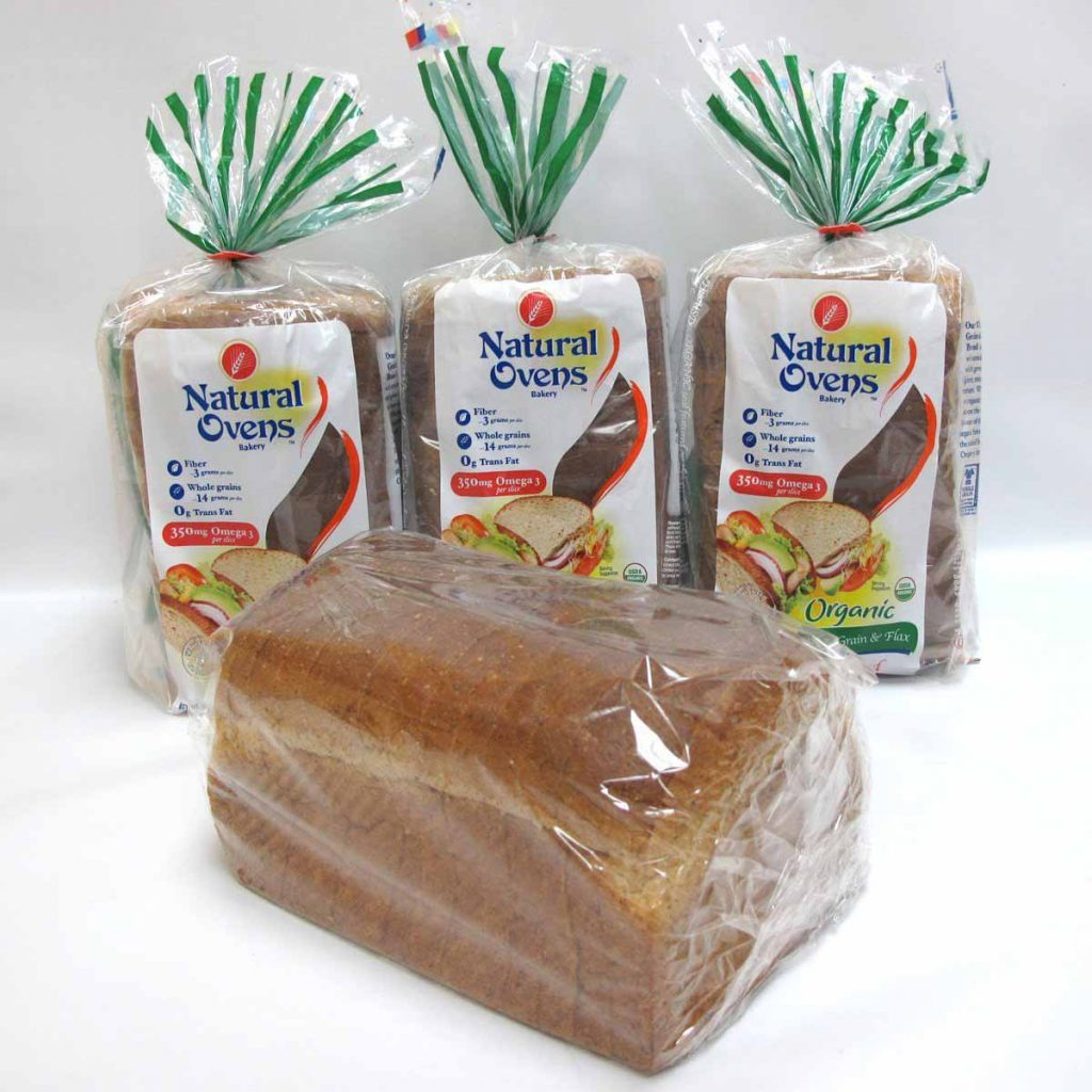 Organic Wholegrain and Flax Bread by Natural Ovens