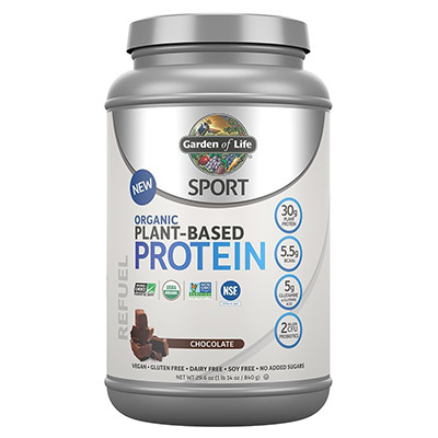 Organic Sport Plant Protein by Garden of Life