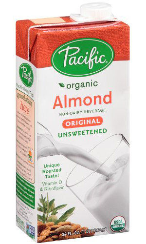 Pacific Natural Foods Almond Dairy-Free Unsweetened Beverage