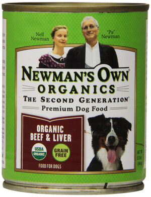 Newman's Own Organics Premium Organic Dog Food with Beef and Liver