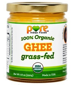 Pure Indian Foods Grass-fed Organic Ghee