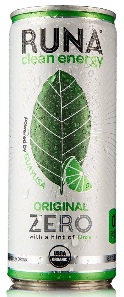 RUNA Original Zero Certified Organic Energy Drink