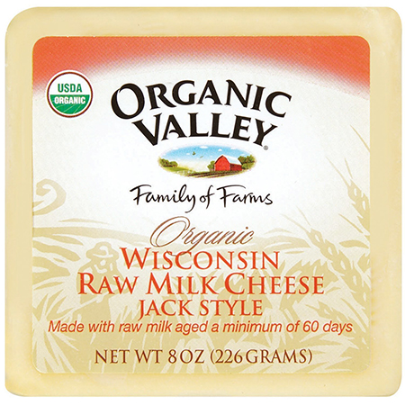Raw Organic Monterey Jack Cheese by Organic Valley