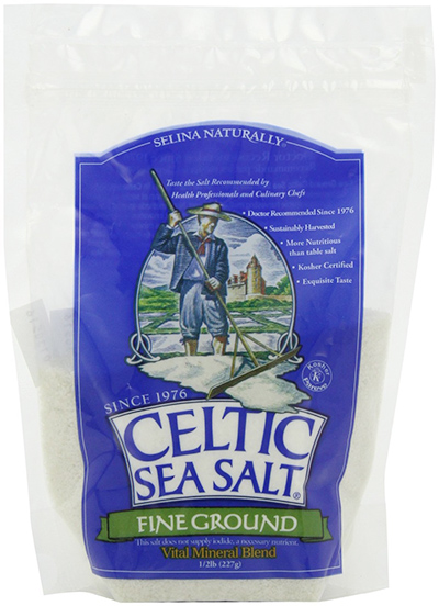 Finely Ground Celtic Sea Salt by Selina Naturally