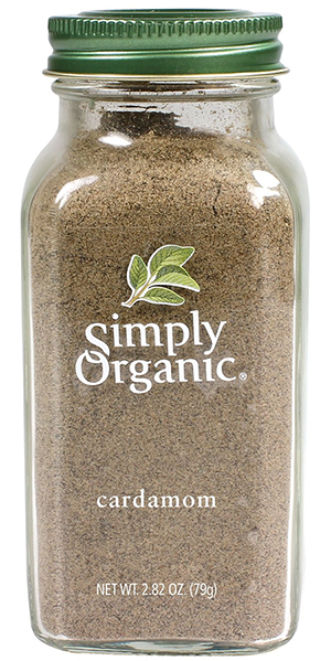 Simply Organic Ground Organic Cardamom