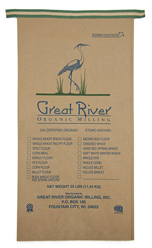 Stone Ground Organic Barley Flour
