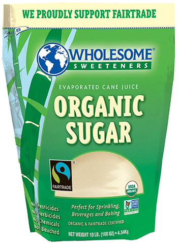 Wholesome Sweeteners Evaporated Cane Juice Sugar
