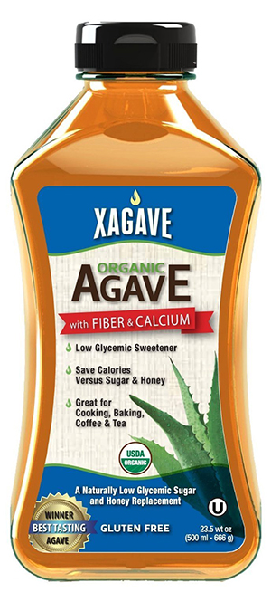Xagave Raw Agave Syrup Natural Sweetener