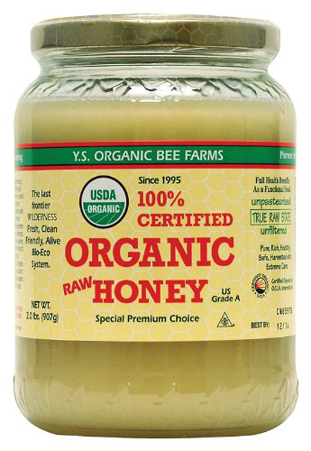 YS Organic Bee Farms Certified Organic Raw Honey