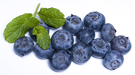 Fresh Frozen Organic Blueberries by Northwest Wild Foods