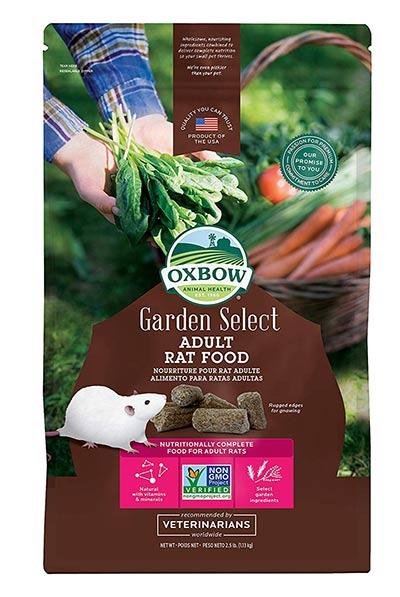 GMO-Free Garden Select Fortified Nutrition for Rats by Oxbow
